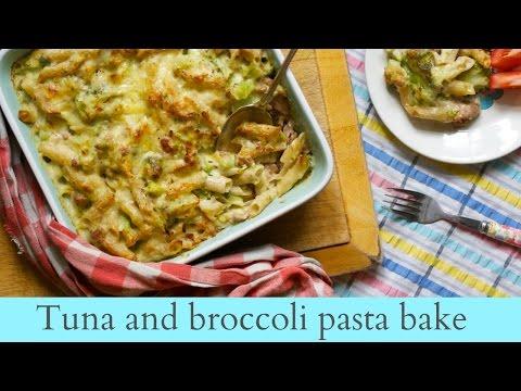 Tuna and broccoli pasta bake | UK family vlogger