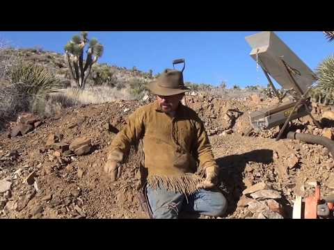 FINDING GOLD !!! In Old Mine Dumps.    ask Jeff Williams