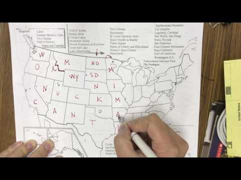 Easily Memorize the 50 states
