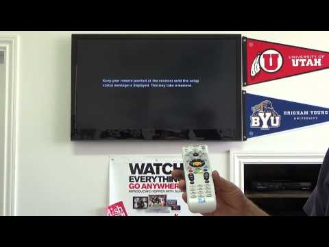 How to program Standard Definition SD DirecTV remote to TV? H24