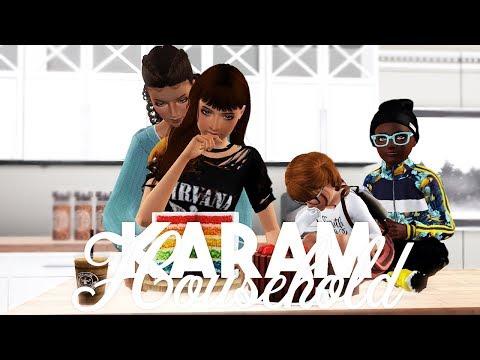 Sims 3 || CURRENT HOUSEHOLD - The Karam Family (JANUARY 2019)