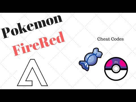 Pokemon FireRed   Rare Candies And Master Balls Cheats On No$gba