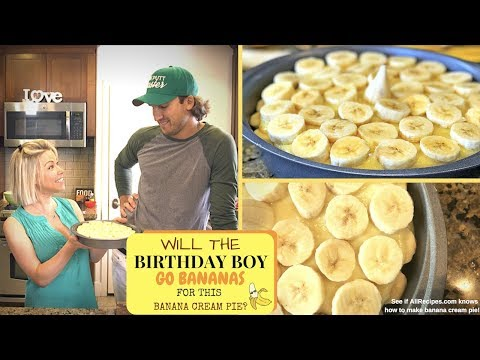 Will We Get Into Another Fight Over This Banana Cream Pie?