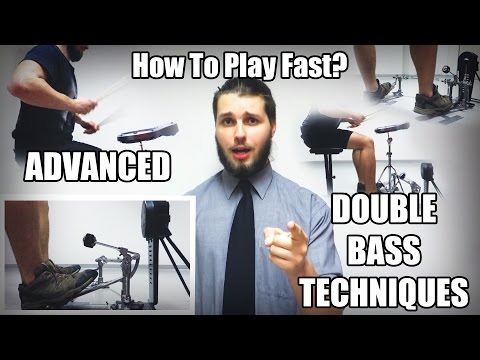 How To Play Fast? (Advanced Double Bass Techniques)