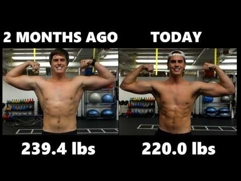 I Lost 20 Pounds in 2 Months! (LOSE FAT!)