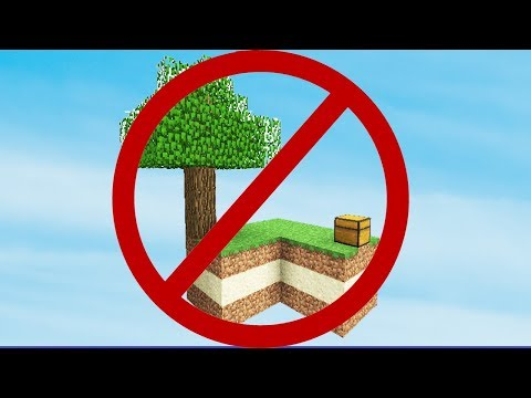 SKYBLOCK. BUT NOT NORMAL SKYBLOCK. (Minecraft)