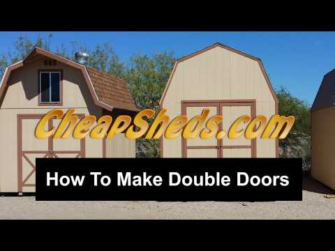 How To Build Double Shed Doors