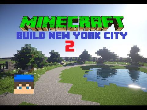 [Minecraft]''Build New York city'' /w Raix + Timelapse (ep.2,díl 1.)