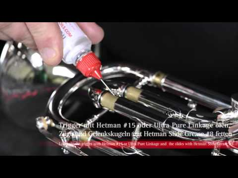 Proper Care and Maintenence of Your Rotary Valve Trumpet - by Jack Burt for Schagerl Austria