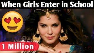 Girls VS Boys Random Situations On Bollywood Style - Bollywood Song Vine
