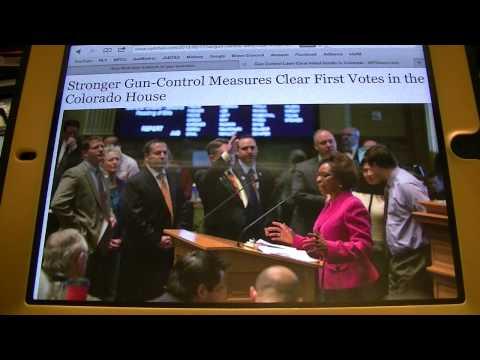 Colorado Restrictive Gun Laws are PASSING
