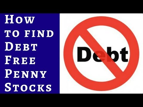 How to find debt free Penny Stocks ( hindi ) .