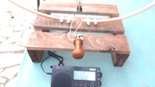 DIY magnetic loop antenna for shortwave listeners SWL