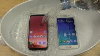 Samsung Galaxy S8 vs. Samsung Galaxy S6 - Water Test! Which Is Best?