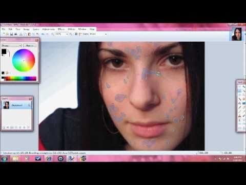 Blemish Correction in Paint.net
