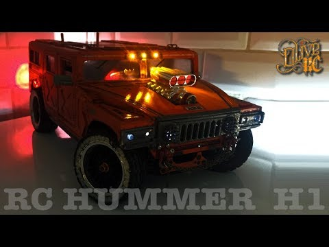 RC HUMMER H1 - Homemade ABS body - BUILD