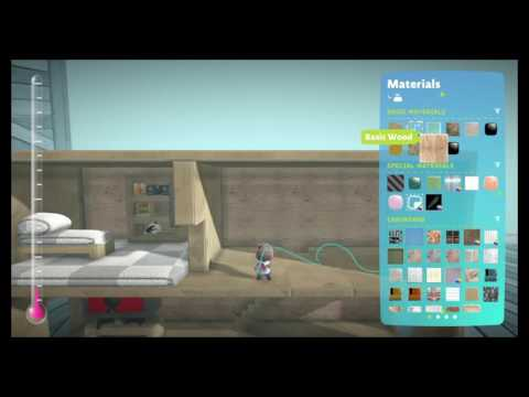 Little big planet 3 how to make a simple house