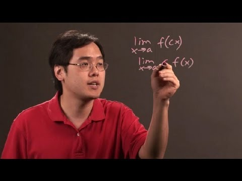 How to Remove Constants From Limits in Calculus : Math & Calculus Tips