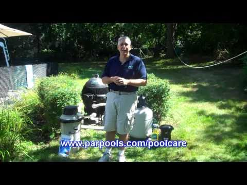 5 Keys to Pool Care - 2. Filtration, ParPools.com