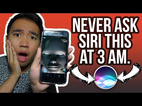 DO NOT TALK TO SIRI AT 3AM! CREEPY NUMBERS! *COPS CALLED*