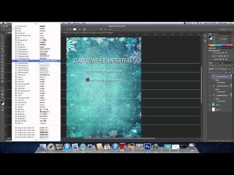 Photoshop CS6: Creating a Flyer