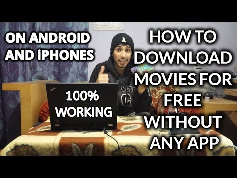 How to DOWNLOAD MOVIES for free on ANDROID and iOS | WITHOUT ANY APP | Zaid Ahmed
