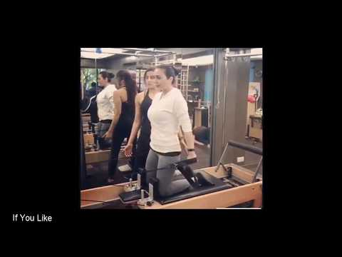 Preity Zinta Hot Workout Video At Gym Video ||  Preity Weight Loss Workout Video At Gym Part 2