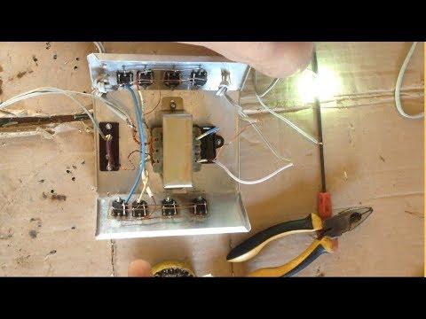 HowTo Make Electric Shock Fishing electrofisher / Video Full Step HD,របៀបធ្វើដុំឆក់ត្រី