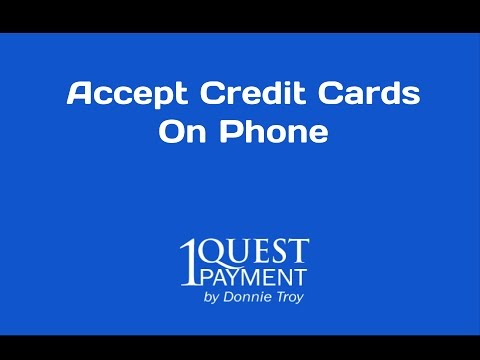 Accept Credit Cards On Phone