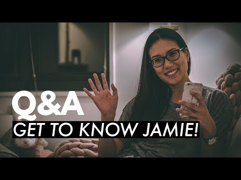 Q&A: GET TO KNOW JAMIE!