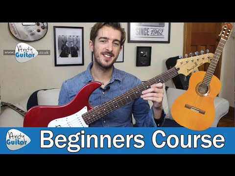 How To Choose Your First Guitar - FREE Beginner Guitar Course (Guitar Basics - Lesson 1)