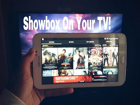 How To Get Showbox On Your TV using Chromecast!