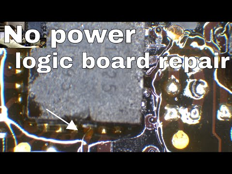 Macbook Pro logic board repair; not turning on, step by step fix.