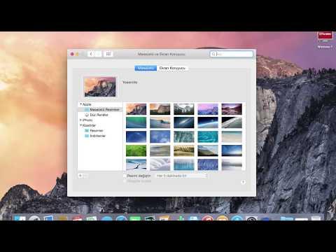 Macbook Pro Retina 13''WALLPAPER SETTİNGS  