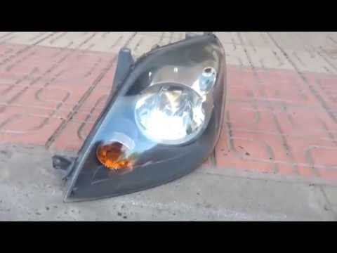 Ford Fiesta Mk6 - Removing the headlight assembly