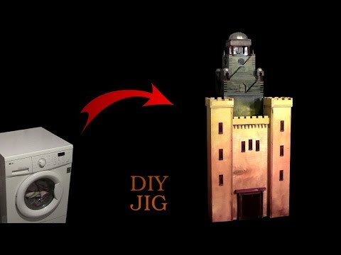 Washing Machine Becomes a Magic Castle - DIY Project