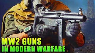 Classic MW2 Weapons in Modern Warfare - Multiplayer Free Weekend