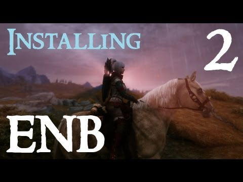Installing Skyrim ENB Mods 2 - Project ENB (realistic)