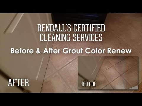 Looks Brand New! - Before & After Tile and Grout Cleaning March 2017 - Rendall's Cleaning