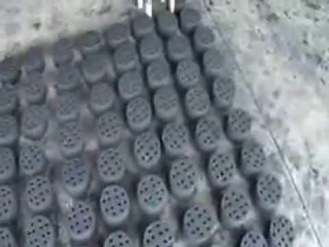 Energy dense charcoal briquettes made in Bahir Dar, Ethiopia
