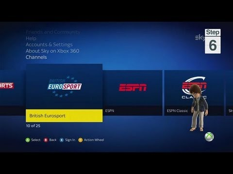 How To Access Sky TV on Xbox Live