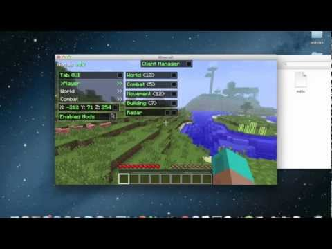 How to Install Nodus Hacked Client for Minecraft