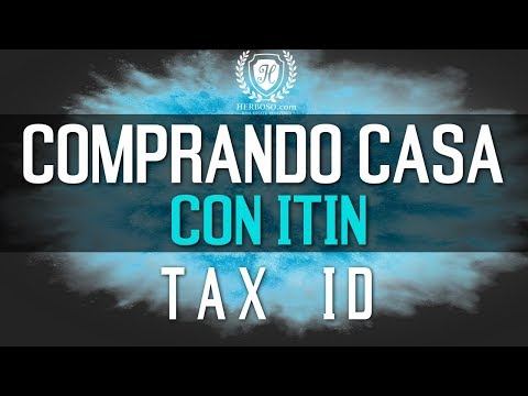 Como Comprar Casa Con ITIN - Tax ID Sin Seguro Social en MD, DC y VA