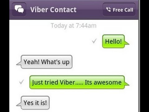 How to clear message history from Viber in one go