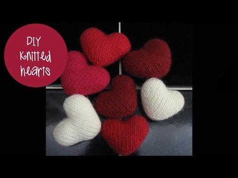 KNITTING TUTORIAL - PUFF HEART
