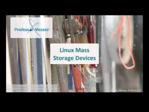 Linux Mass Storage Devices - CompTIA Linux+ LX0-101: 101.1
