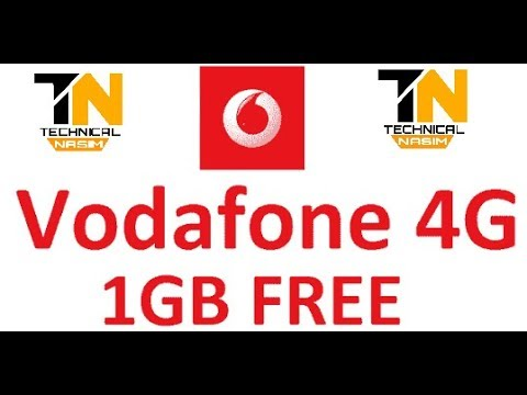 How To Get 1gb free data on Vodafone || Technical Nasim