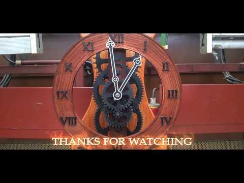 Brian Law`s Wooden Clock  - 3D PRINTER PROJECT