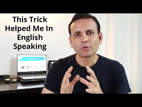 Easiest way to learn English Speaking   Tips for English Speaking   Hindi to English Medium
