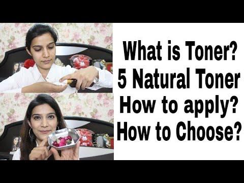 फेस टोनर क्या है? क्यों है जरूरी?? How to choose and apply Face Toner? Skin Care Routine